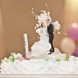 Les Figurines De Gateau De Mariage Kitch Ou Tendance