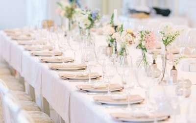 Le site du mariage et rception en belgique - Comment disposer les tables pour un mariage ...