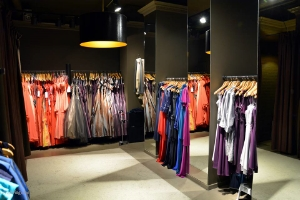 Magasin robes de soiree stockel