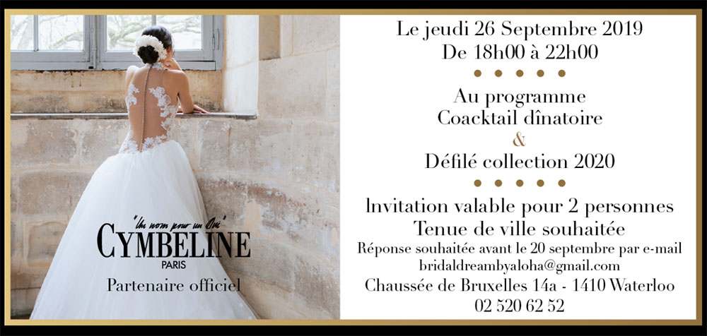 Cocktail d'inauguration de Cymbeline Bruxelles !