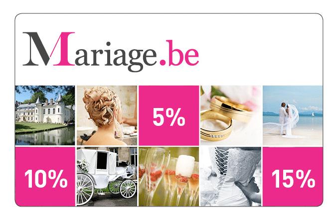 la fee decoration offre la carte mariage.be