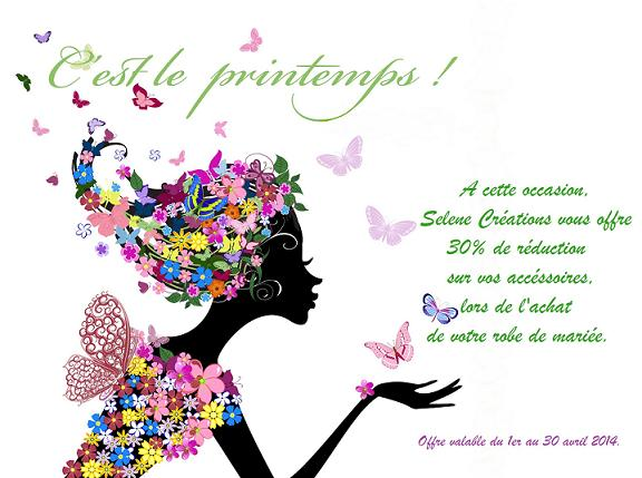 Selene creation Promo de printemps