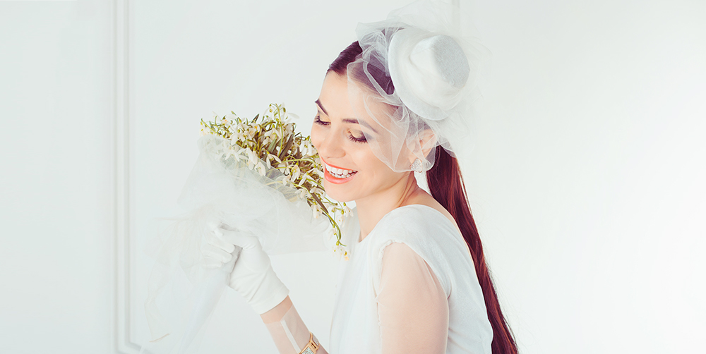 Chapeau de mariage
