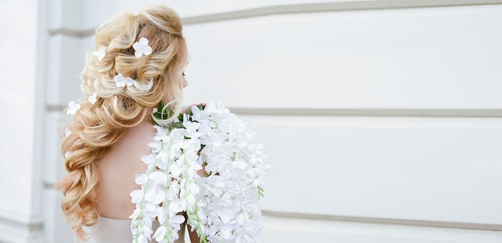 barrette florale