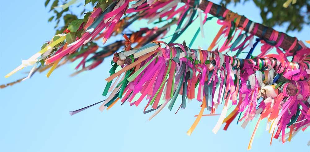 rituel arbre à voeu