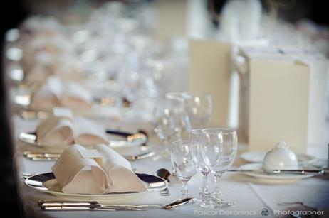 Décoration de la table mariage