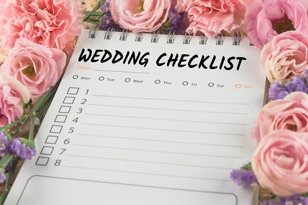Planning ou carnet d'organisation de mariage – DIY mariage