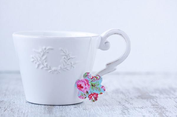 DIY mariage : un sachet de thé personnalisé pour vos invités