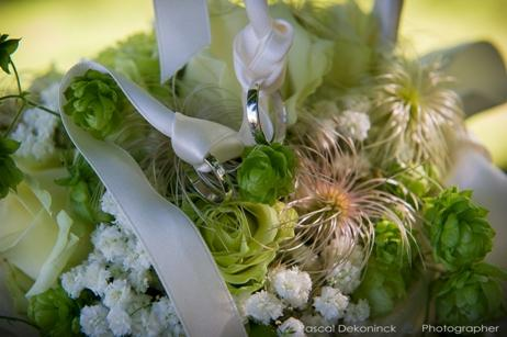 Les fleurs - bouquet mariée