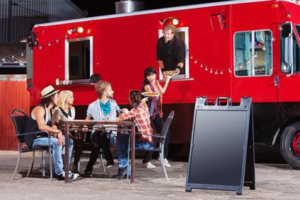 Food trucks : la nouvelle tendance mariage !