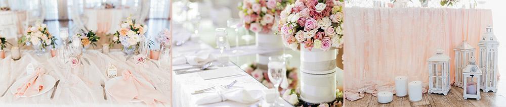 decoration table mariage romantique chic