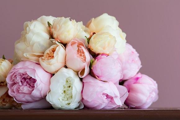 Le bouquet de la mariée : Pivoine