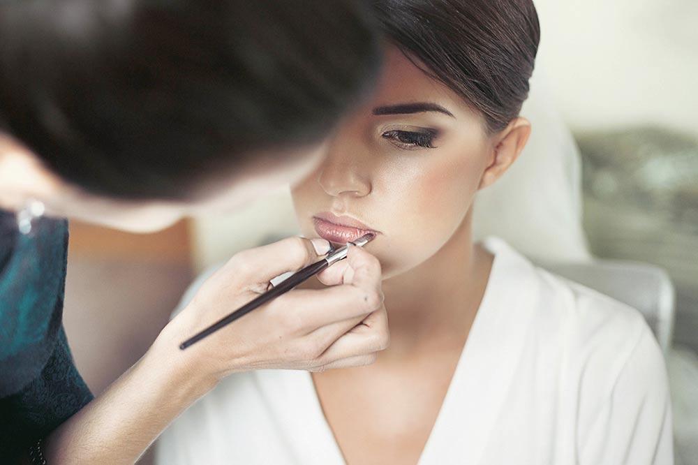 Le maquillage de la mariée