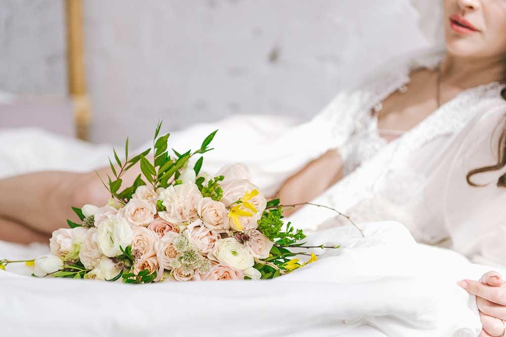Seance photo boudoir mariage