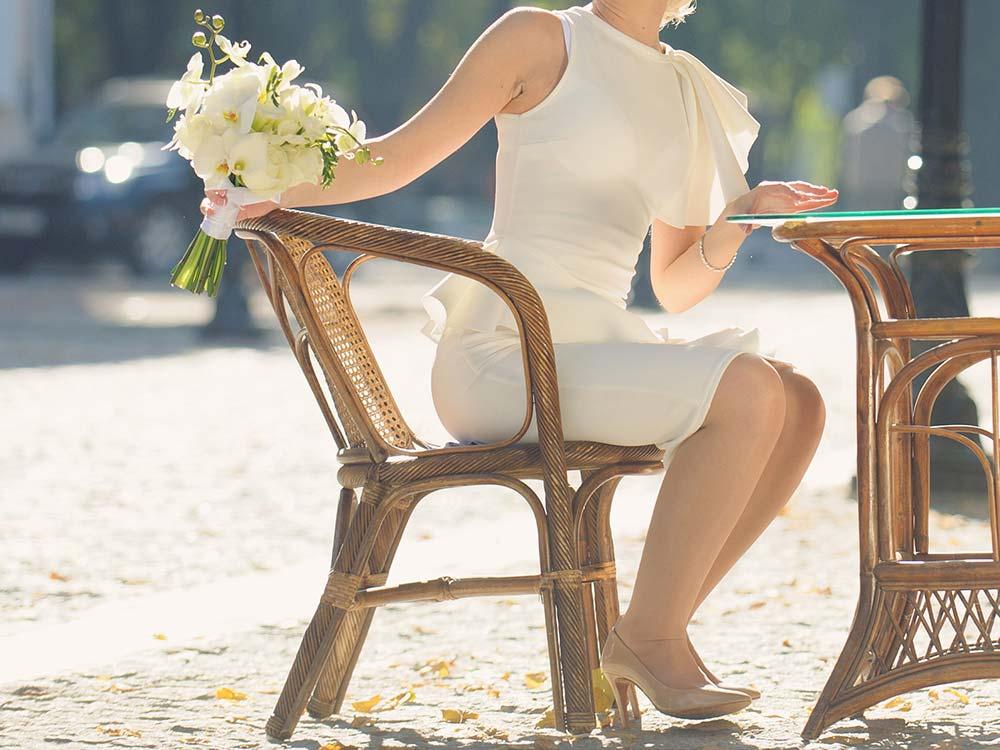 OQue porter pour le mariage civil ? ?