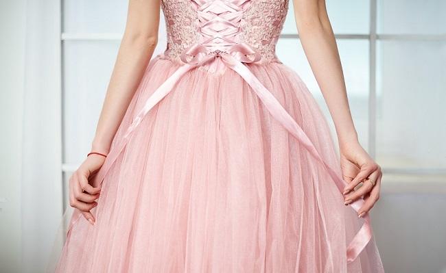 Une robe de mariée colorée !