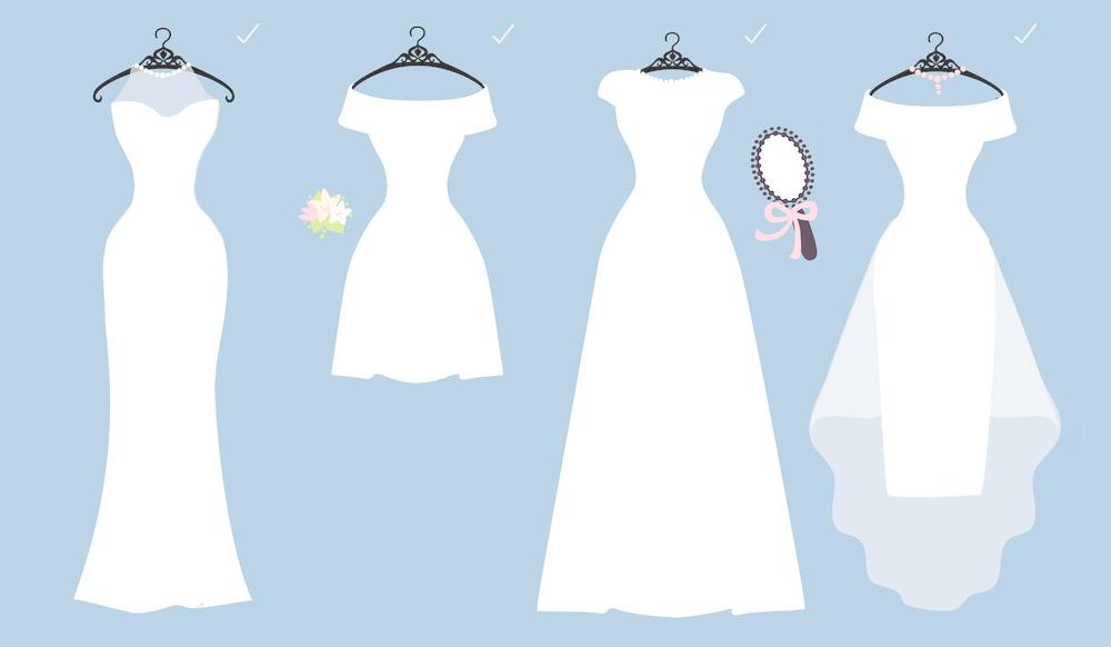 Robe de mariée pour femme de petite taille