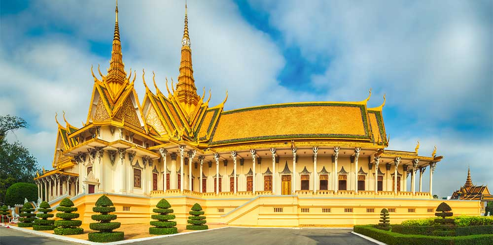 Palais royal Cambodge
