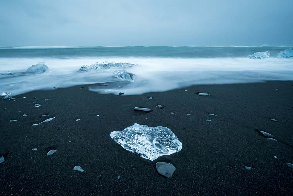Diamond beach en Islande