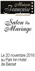 SALON 'AVANT PREMIERE MARIAGE COLLECTION 2017' de Li�ge