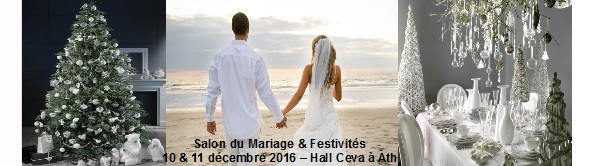 salon du mariage des festivites ath les 10 11 d cembre 2016. Black Bedroom Furniture Sets. Home Design Ideas