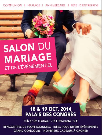 Salon du mariage en belgique bruxelles wavre charleroi namur li ge - Salon de l emploi palais des congres ...