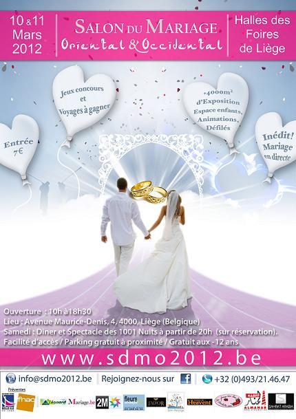Salon du mariage oriental et occidental 2012 aux halles des foires de li ge li ge le - Salon du mariage de bruxelles ...
