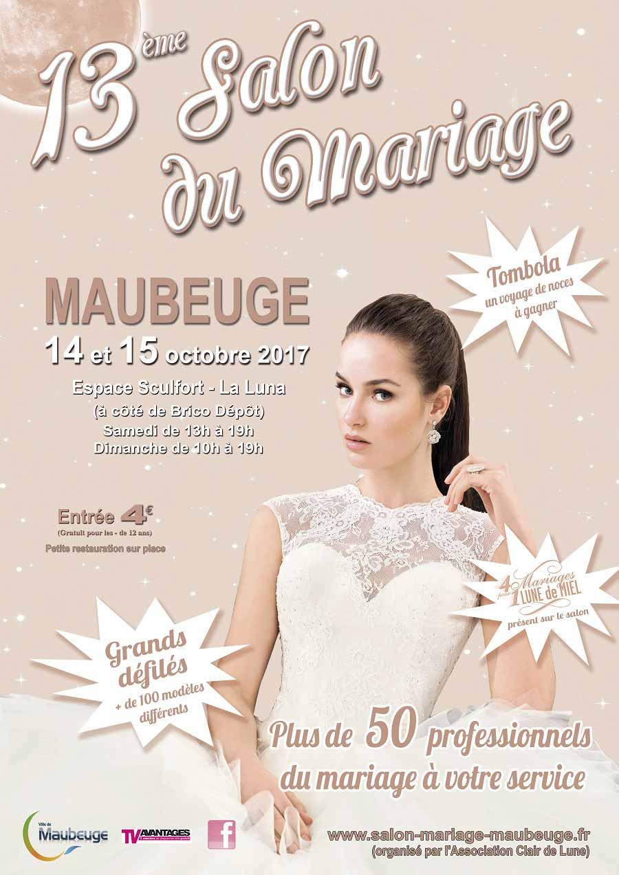 Salon du mariage de maubeuge maubeuge les 14 et 15 octobre 2017 - Salon du mariage maubeuge ...