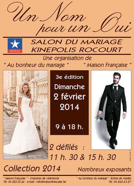 Salon du mariage en belgique bruxelles wavre charleroi for Salon du mariage cherbourg